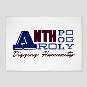Digging Humanity 5'x7'Area Rug