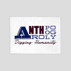 Digging Humanity 5'x7'Area Rug