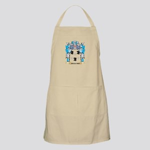 Jacquard Coat of Arms - Family Crest Apron