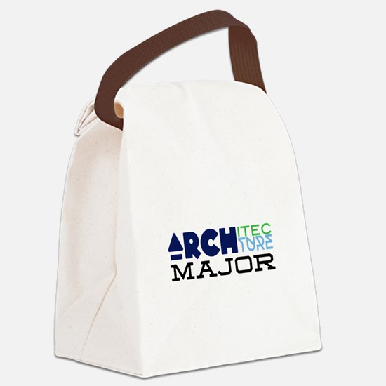 Architecture Major Canvas Lunch Bag