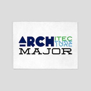 Architecture Major 5'x7'Area Rug