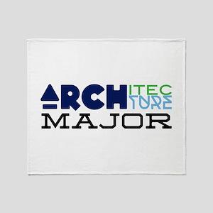 Architecture Major Throw Blanket