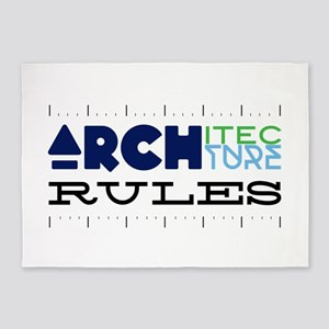 Rules 5'x7'Area Rug