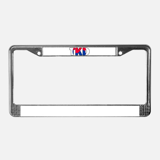 Tae Kwon Do (TKD) License Plate Frame