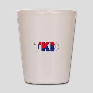 Tae Kwon Do (TKD) Shot Glass