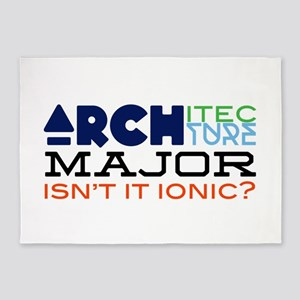 Isn't It Ionic? 5'x7'Area Rug