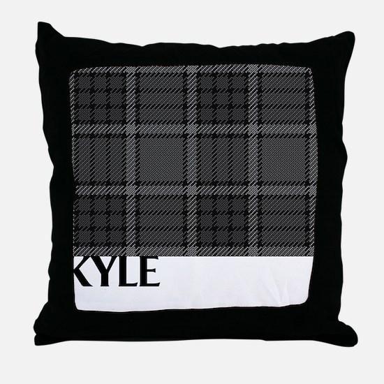 Kyle Tartan Throw Pillow