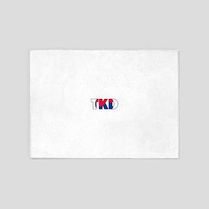 Tae Kwon Do (TKD) 5'x7'Area Rug