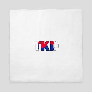 Tae Kwon Do (TKD) Queen Duvet