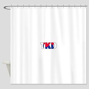 Tae Kwon Do (TKD) Shower Curtain