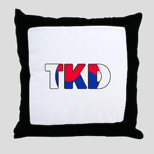 Tae Kwon Do (TKD) Throw Pillow