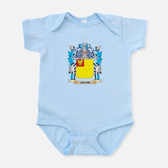 Jakob Coat of Arms - Family Crest Body Suit
