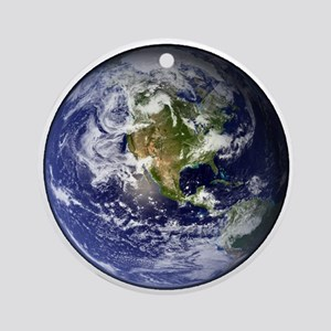 earthWesternFull Ornament (Round)