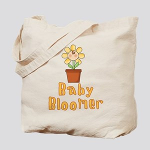 Baby Bloomer Flower Pot Tote Bag