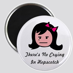 There's No Crying In Hopscotc Magnet