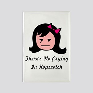 There's No Crying In Hopscotc Rectangle Magnet