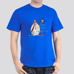 SNOWMAN WITH TREE T-Shirt