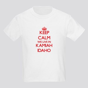 Keep calm we live in Kamiah Idaho T-Shirt
