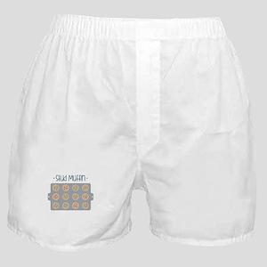 Muffin Baking Pan Stud Boxer Shorts