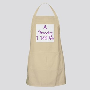 A Drawing I Will Go 3 BBQ Apron
