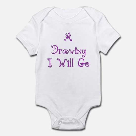A Drawing I Will Go 3 Infant Bodysuit