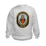 USS JOHN S. MCCAIN Kids Sweatshirt