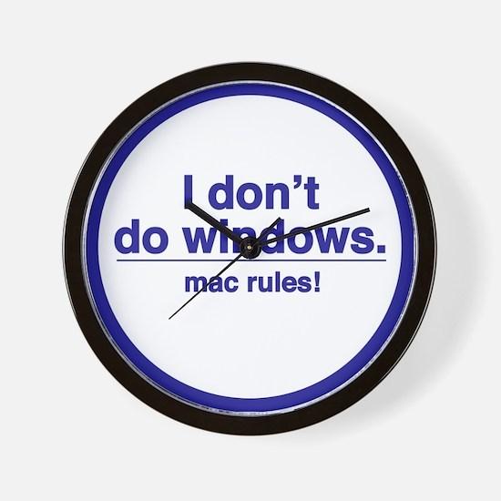 MAC RULES! - Wall Clock