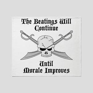 Morale Throw Blanket