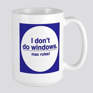 MAC RULES! - Large Mug