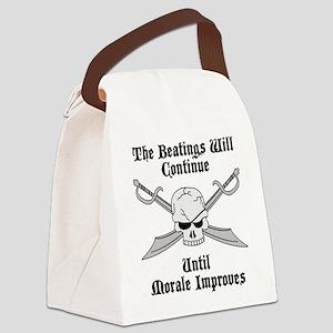 Morale Canvas Lunch Bag