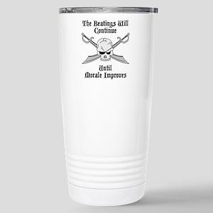 Morale Stainless Steel Travel Mug