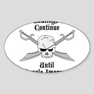 Morale Sticker (Oval)