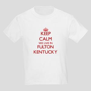 Keep calm we live in Fulton Kentucky T-Shirt