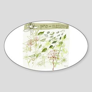 Pro-Nature Oval Sticker