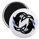 2Dolphins Magnet