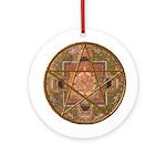 Mandala Pentagram Hanging Ornament