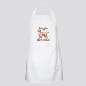 BETTER WITH RETRIEVER Apron