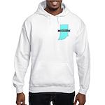 True Blue Indiana LIBERAL Hooded Sweatshirt