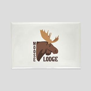 Moose Lodge Head Magnets