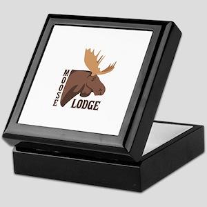 Moose Lodge Head Keepsake Box