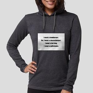 iwantahamburger Long Sleeve T-Shirt