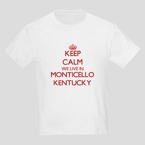 Keep calm we live in Monticello Kentucky T-Shirt