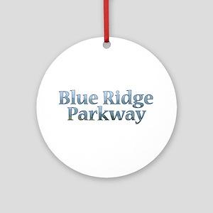 Blue Ridge Parkway NC Ornament (Round)