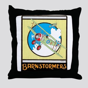 BARNSTORMERS Throw Pillow