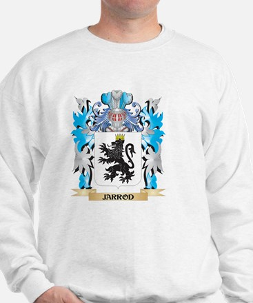 Jarrod Coat of Arms - Family Crest Sweatshirt