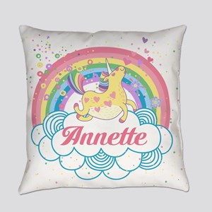 Unicorn and Rainbow Personalized Master Pillow