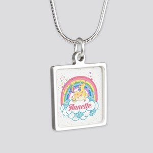 Unicorn and Rainbow Personalized Necklaces