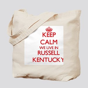 Keep calm we live in Russell Kentucky Tote Bag