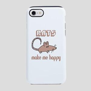 Rats Make Me Happy iPhone 7 Tough Case
