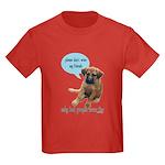 Please Don't Wear My Friends Kids Dark T-Shirt